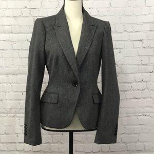 Express Blazer Dark Grey Size 8